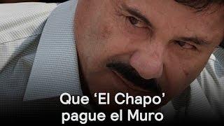 Ted Cruz propone pagar el muro con recursos del 'El Chapo' - Despierta con Loret