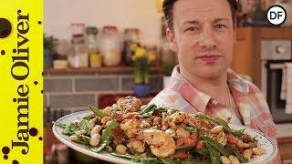 Healthy Pan Cooked Prawns | Jamie Oliver