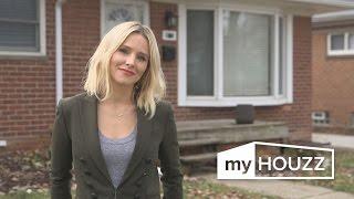 My Houzz: Kristen Bell's Surprise Renovation for Her Sister