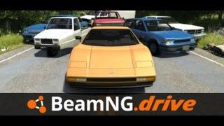 Забавни Игри #6: BeamNG Летя с колата !!!