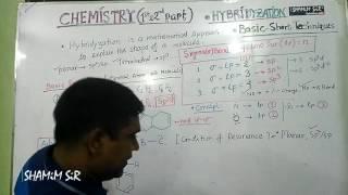 Chemistry _Hybridization Bangla tutorial