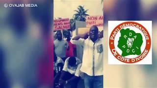 gbagbo kafissa - la jeunesse PDCI demande à Houphouet de venir chercher son Bédié