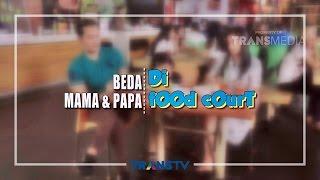 INSTAWA - Beda Mama & Papa Saat di Food Court