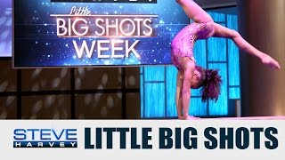 Little Big Shots: Best Gymnast in the Country || STEVE HARVEY