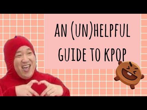 an un helpful guide to kpop