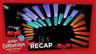 RECAP OF ALL THE FIRST REHEARSALS AT THE 2017 JUNIOR EUROVISION SONG CONTEST