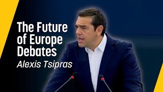 Tsipras: We should not let Europe slide back to the past // Future of Europe Speech, September 2018