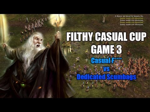 The Filthy Casual Cup - GAME 3 - Clutch Sapper (Amazing Match)
