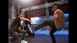 Laylizzy and AKA perform #HelloLaylizzy at Show de Agosto in Maputo