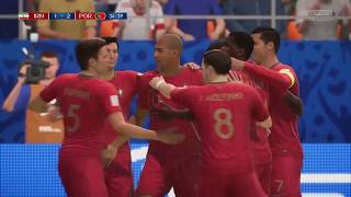 World Cup 2018 - Iran vs Portugal  - Group B Full Match Sim (FIFA 18)