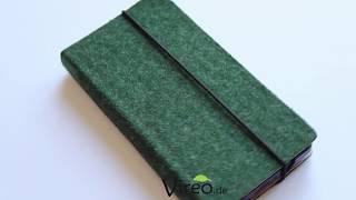 Labilstabil Klapphülle für Fairphone 2- Waldgrün