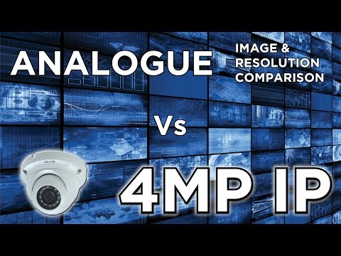 CCTV Image Resolution Comparison: D1 Vs 1.3MP AHD Vs 4MP IP cameras