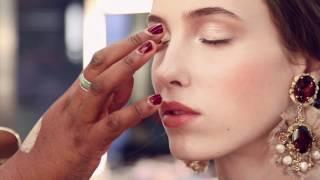 Make-up Dolce e Gabbana backstage della sfilata A/I 2012-2013