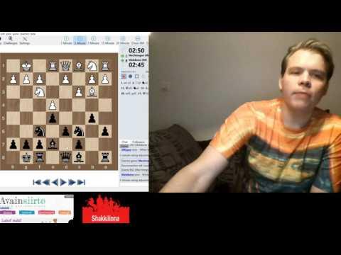 Suomen mestari pelaa 3 minuutin pikapeliä - yllättävä kuningattaren syöttö!