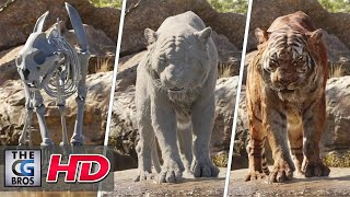 """CGI & VFX Breakdowns """"The Characters of The Jungle Book"""" - by MPC"""