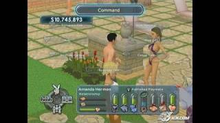 Playboy: The Mansion PlayStation 2 Gameplay - Making some