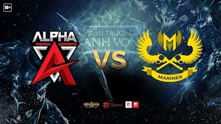Alpha Team vs Marines Esports [Vòng 12 - Ván 1][15.10.2017]