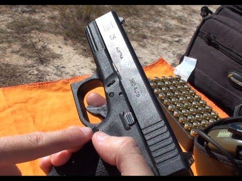 Pistola Glock G25 em .380 ACP