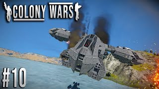 Space Engineers - Colony WARS! - Ep #10 - WYVERN DOWN!