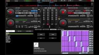 Learning Virtual DJ -- Making Beats Using Hot Cues, Adding Effects Brake, Beatgrid and reverb
