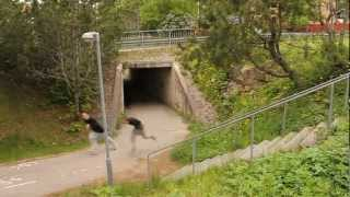 FreeRunning y Parkour - Late for school