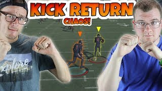 NOTHING BUT HUGE KICK RETURNS AT THE END TO WIN IT!! Madden 18 KICK RETURN CHAOS