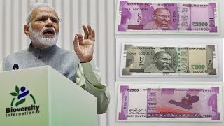 500, Rs 2000 New notes, All you need to know | वनइंडिया हिन्दी