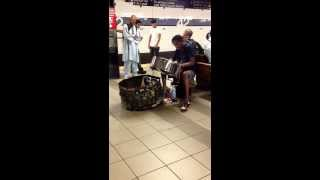 NY subway performers rendition of