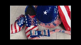 Teen's patriotic prom tux is made entirely of duct tape, and it could win him $10K