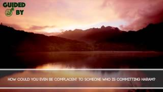 Honoring People Who Do Sins [Powerful Reminder]
