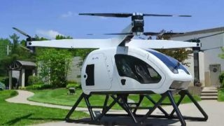 SureFly personal octocopter revealed by the Workhorse Group