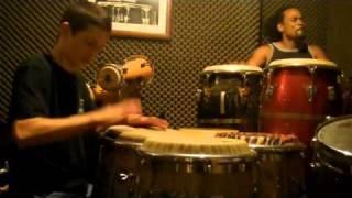 Daniel Diaz y Paoli Mejias Hablando con el tambor Part 1 de 3
