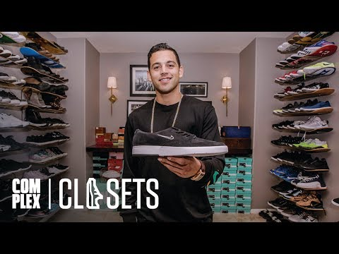 Pro Skater Paul Rodriguez Brings 300 Pairs Of Sneakers Out of Storage On Complex Closets