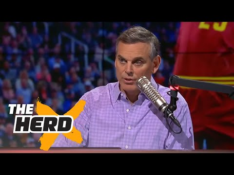 Colin reacts to LaVar Ball saying his sons are worth 1 billion shoe deal THE HERD