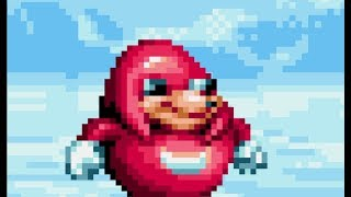 Obligatory Ugandan Knuckles sprite animation (I am sorry)