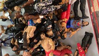 WWE Raw vs Smackdown Action Figure Draft | Rylan vs Rocco | Action Figure Collection | JAKKS, MATTEL