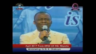 Dr  D K Olukoya   The Problem of Generational Poverty April 2017 Manna Water 2