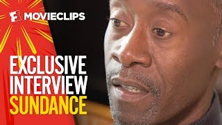 Don Cheadle 'Miles Ahead' Sundance Interview (2016) Variety