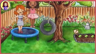 Toy Stories for Kids - Katie's Sunday Part 1 - My Playhome App