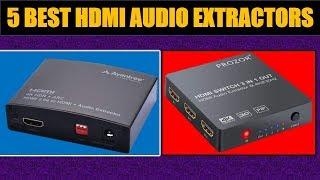 Top 5 HDMI Audio Extractors 2018 || Best HDMI Audio Extractors Review ||