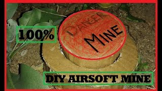 How to Make an Airsoft mine from Cardboard