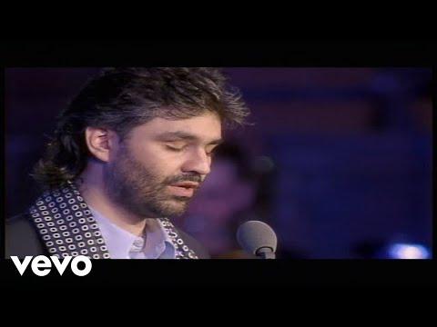 Andrea Bocelli - Con Te Partiro - Live From Piazza Dei Cavalieri, Italy  1997