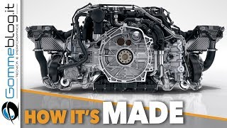 Porsche 911 Engine PRODUCTION - CAR FACTORY Assembly 2018