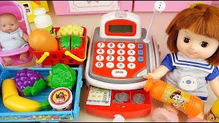 Baby doll Mart and Cash register toys baby Doli play