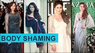 Aishwarya Rai To Kareena Kapoor - Stars BEST ANSWERS To Body Shaming