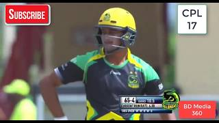 Shakib Al Hasan superb batting 44 not out in his 2nd match of cpl 2017