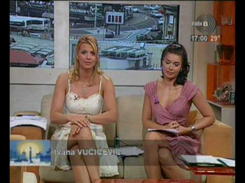 Ljubinka Dobrosavljev i Ivana Vučićević hot sexy crossed legs