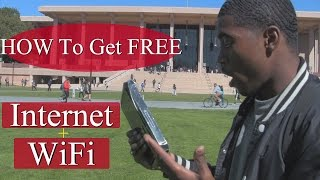How to get Free WiFi & Internet At Home or Apartment