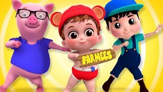 Looby Loo | Nursery Rhymes For Children by Farmees