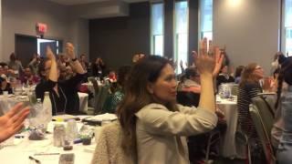 آموزش رقص ایرانی در کنفرانس کانادایی  ُToronto IRANIAN DANCE